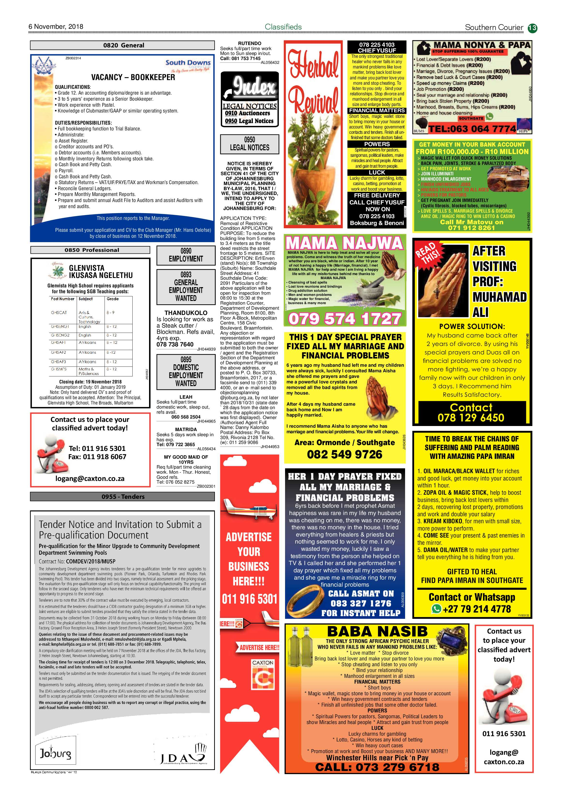 southern-courier-06-november-2018-epapers-page-13